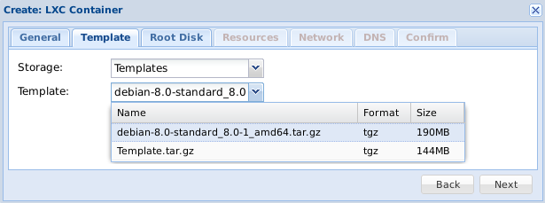 PROXMOX - File-Server